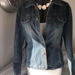 Live a Little jean jacket-Fun, cute, & cool